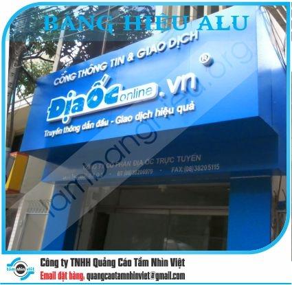 Làm bảng hiệu Đường Nguyễn Du