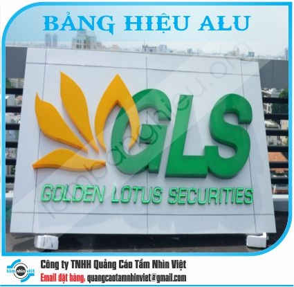 Làm bảng hiệu Đường Nguyễn Văn Đậu