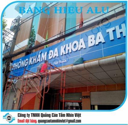 Làm bảng hiệu Đường Nguyễn Xí