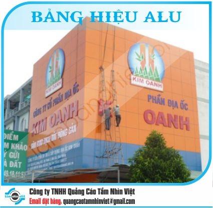 Làm bảng hiệu Đường Nguyễn Hữu Cảnh
