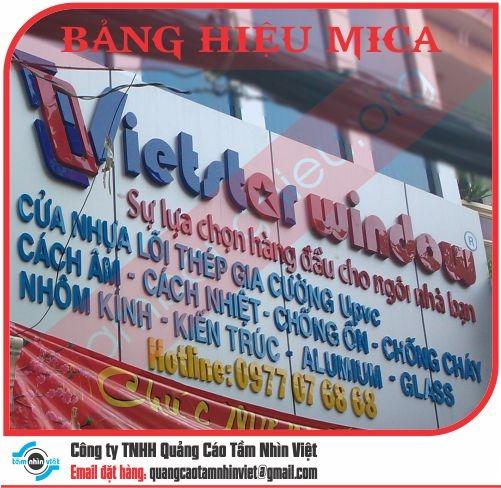Làm bảng hiệu Đường Nguyễn Văn Trỗi