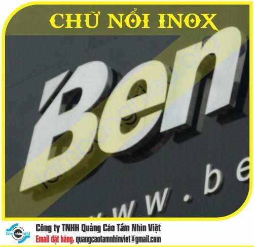 Chữ nổi Inox 003