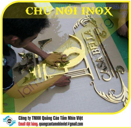 Chữ nổi Inox 004