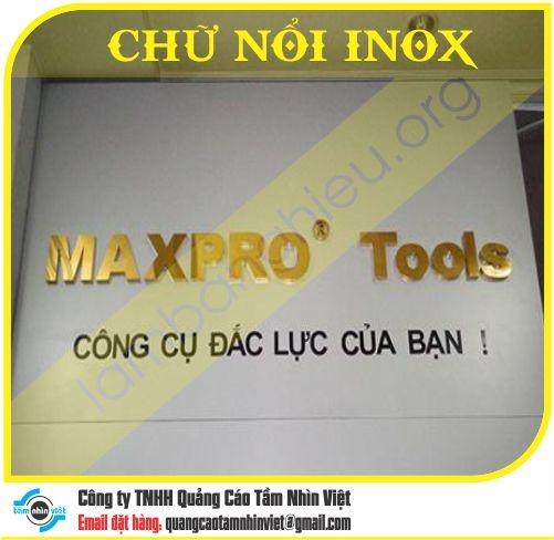 Chữ nổi Inox 017