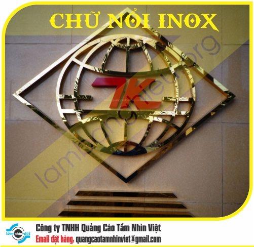 Chữ nổi Inox 022