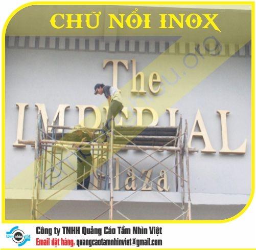Chữ nổi Inox 025