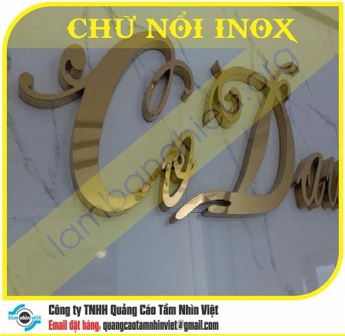 Chữ nổi Inox 028