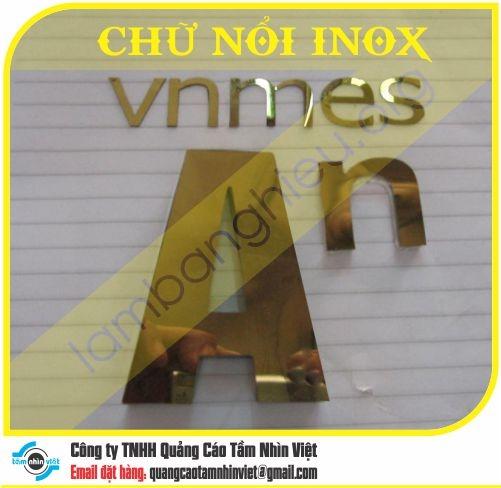 Chữ nổi Inox 052
