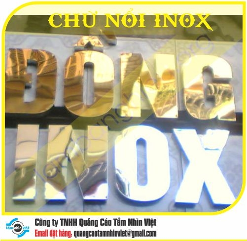 Chữ nổi Inox 053