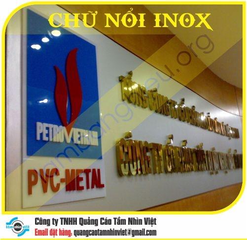 Chữ nổi Inox 059