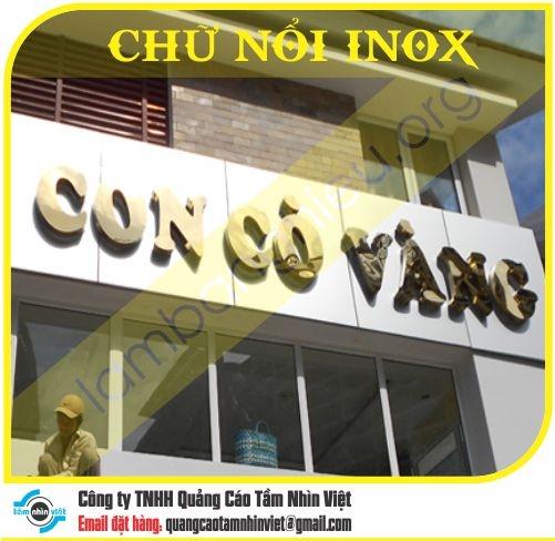 Chữ nổi Inox 061