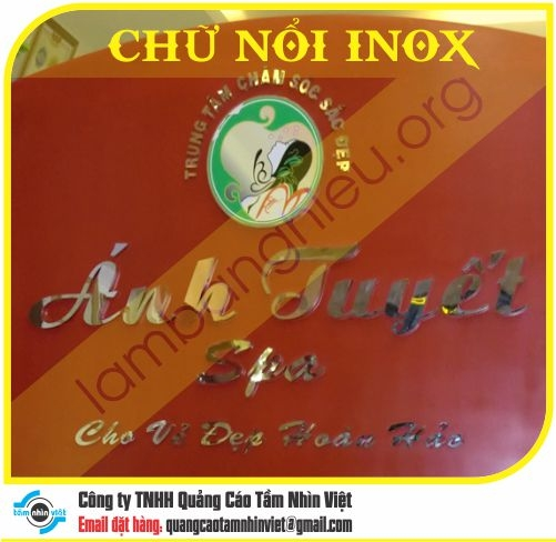 Chữ nổi Inox 062
