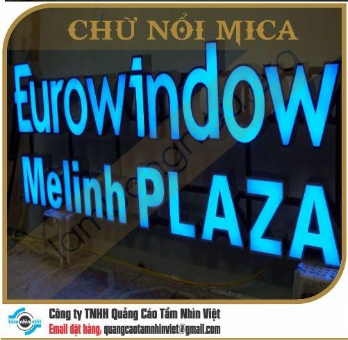 Chữ nổi Mica 004