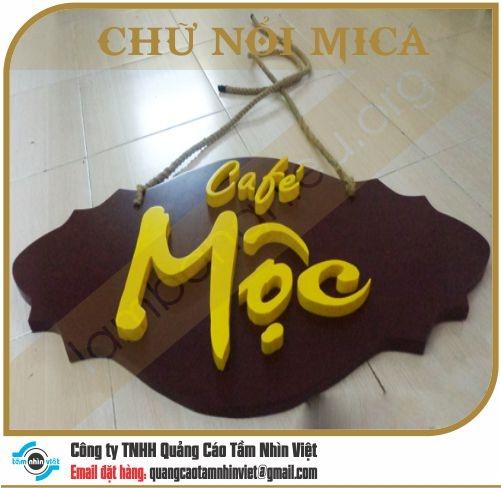 Chữ nổi Mica 076