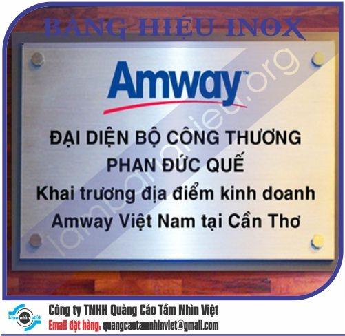 Làm bảng hiệu Đường Nguyễn Thái Bình