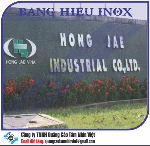 Làm bảng hiệu Đường Nguyễn Trãi