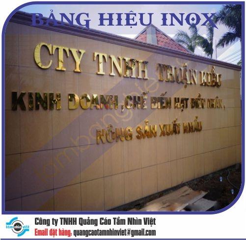 Làm bảng hiệu Đường Hồng Bàng