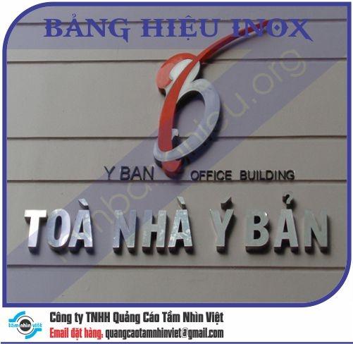 Làm bảng hiệu Đường Thành Thái