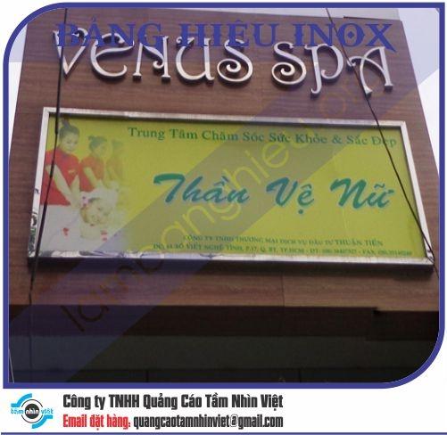 Làm bảng hiệu Đường Võ Thành Trang