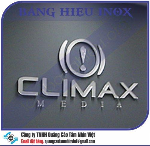 Mẫu bảng hiệu inox 118