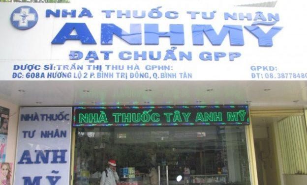 Bảng hiệu quảng cáo quận Bình Tân