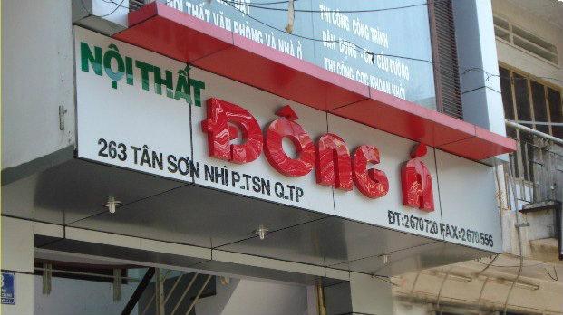 Bảng hiệu quảng cáo quận Tân Phú