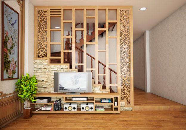 Vách ngăn bằng gỗ