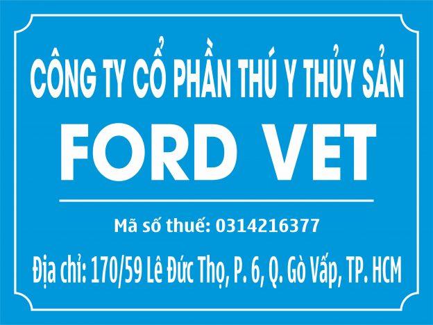 Làm bảng hiệu mica công ty Ford VET – Gò Vấp