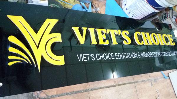 Làm bảng hiệu Alu Viet's Choice