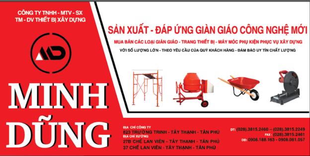 Làm bảng hiệu Alu quận Tân Phú – Công ty Minh Dũng