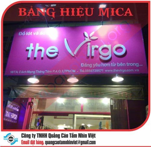 Làm bảng hiệu mica công ty Việt Tín