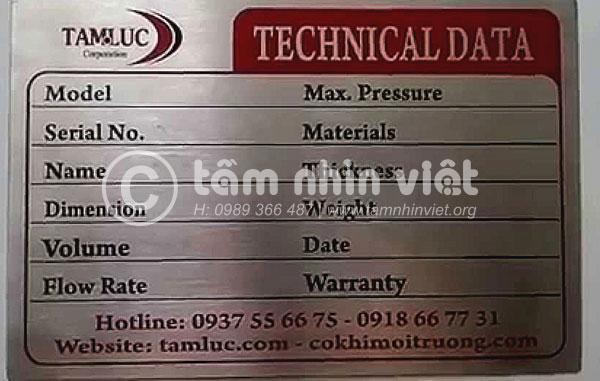 Làm tem nhãn inox chuyên nghiệp trên địa bàn TPHCM